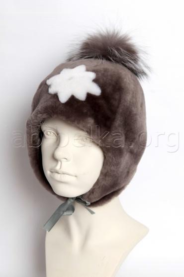 Корчиневая шапка из овчины