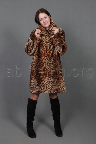 Крашение «под леопарда»